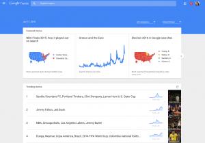 Google Trends Update