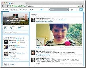 Twitter Search Interface